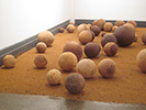 Installation- dimensions variable- maple, oak, pine, cottonwood, osage, beech, white cedar, cherry